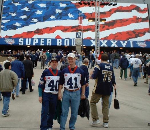 Super Bowl - Colin & Rob - Superdome